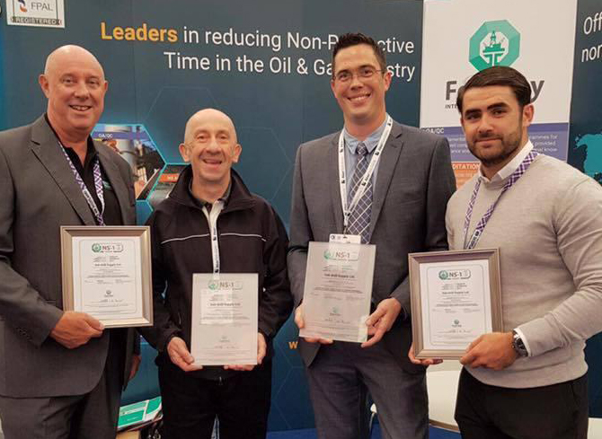 Sub-drill awarded NS-1 Facility Re-Approval at Offshore Europe-2017